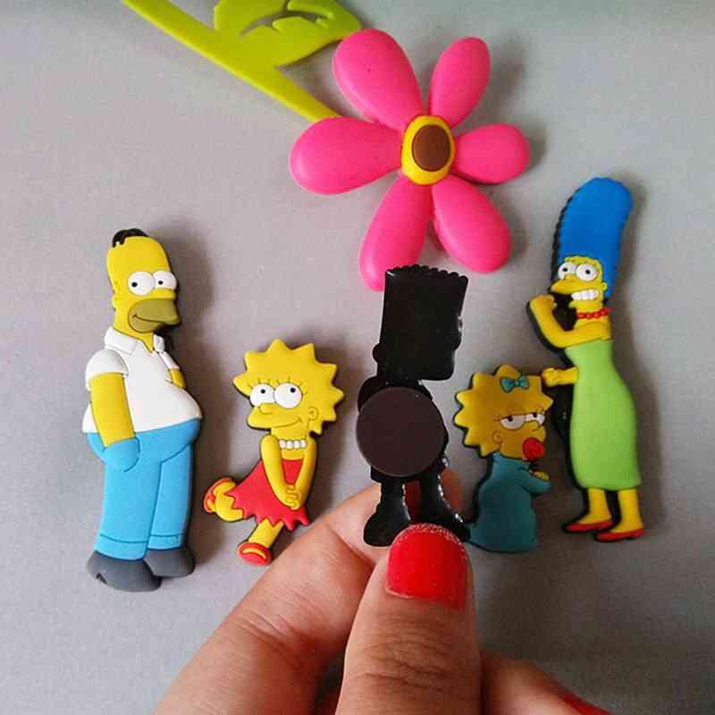 Homer Simpson, Cartoon Creative, Fridge Magnet Sticker