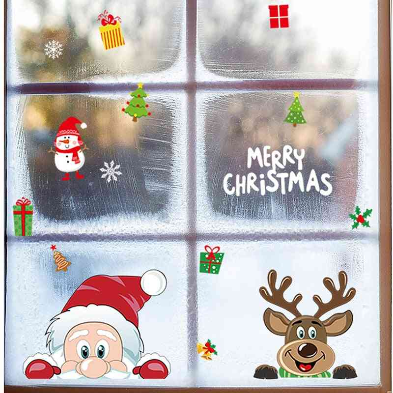 Refrigerator Snowflake, Wall Glass Decal Stickers