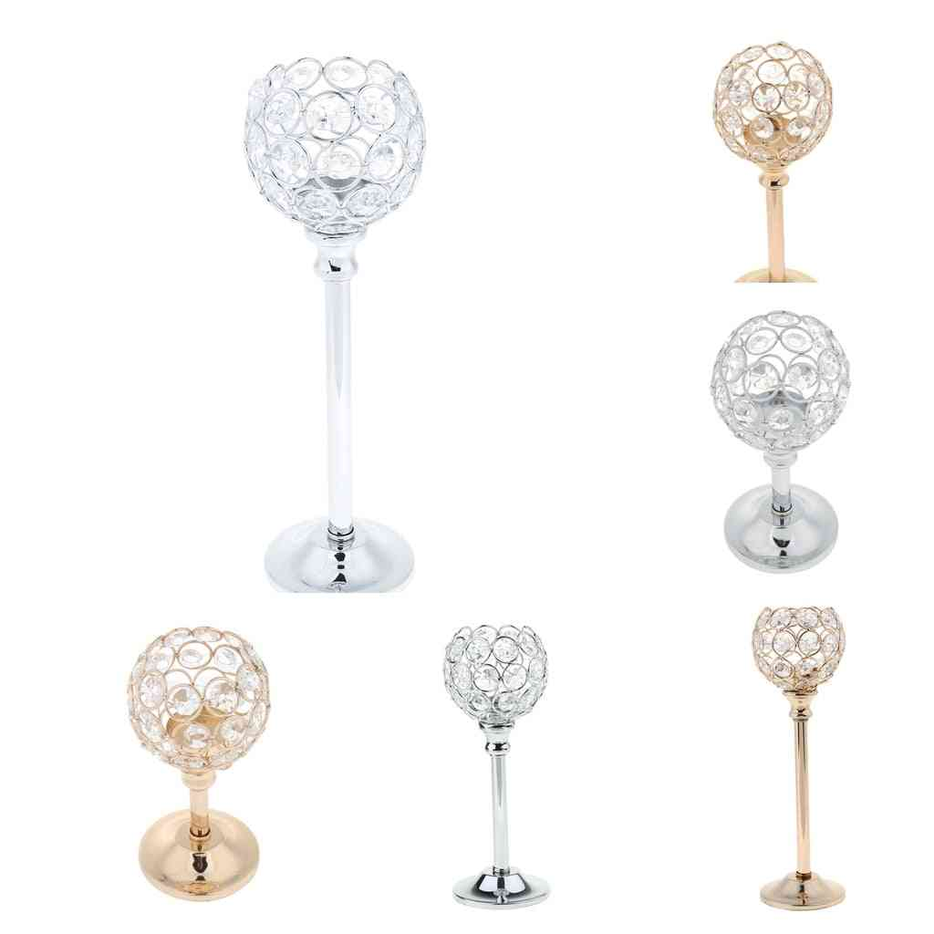 Mosaic Crystal- Candle Holder Stand