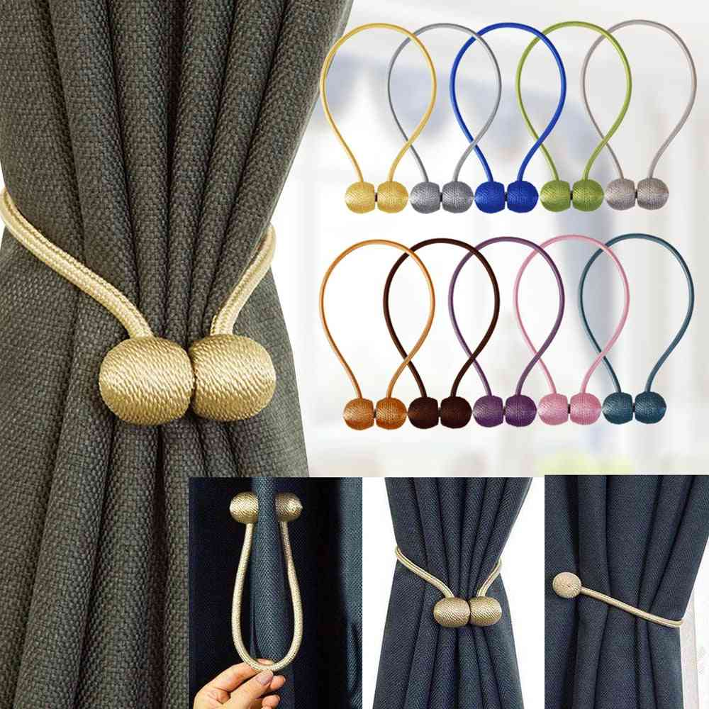 1pc Magnetic Curtain Tieback High-quality Holder Hook Buckle Clip
