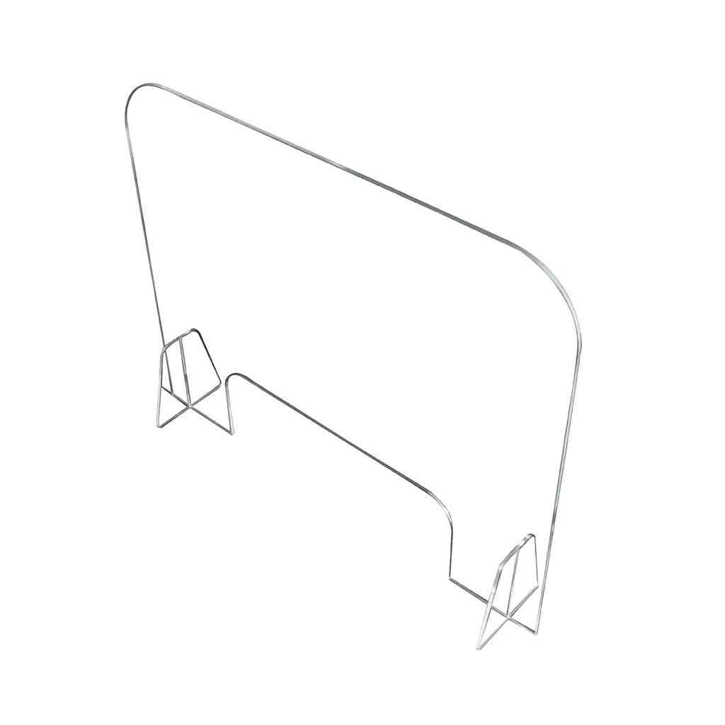 Acrylic Sneeze Guard Shield Protection Safety Counter For Restaurant/grocery/stores/salons (clear)