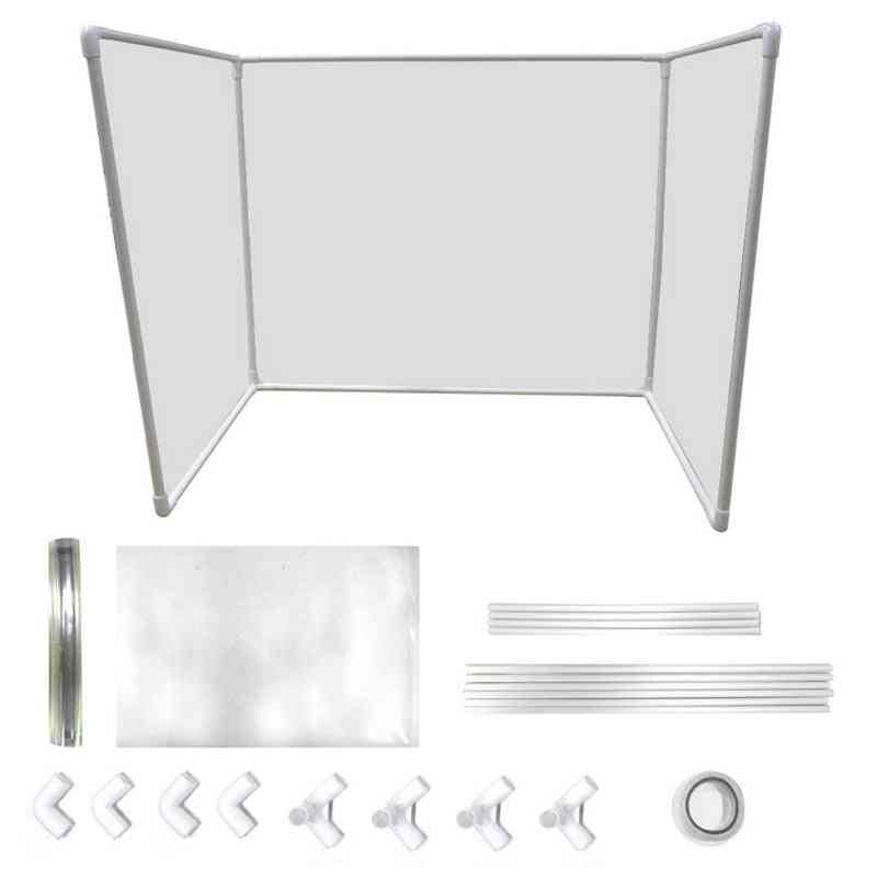 Transparent Plastic Shield Protector Table Desk For School, Classroom, Counter, Office (clear)