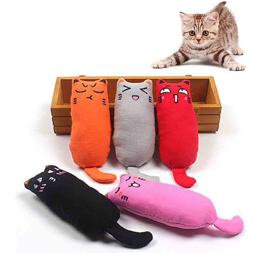 Funny Interactive, Plush Pet Kitten, Chewing Cat Toy