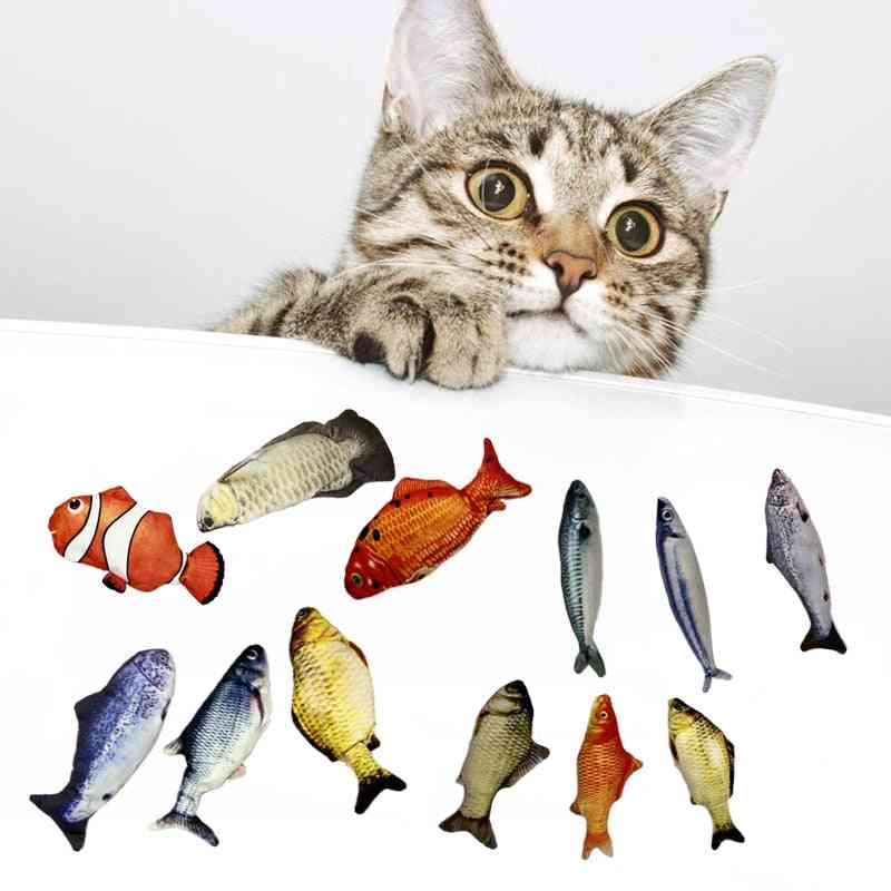Soft Plush Shaking, Stuffed Interactive, Dancing Fish, Playing Cat Toy