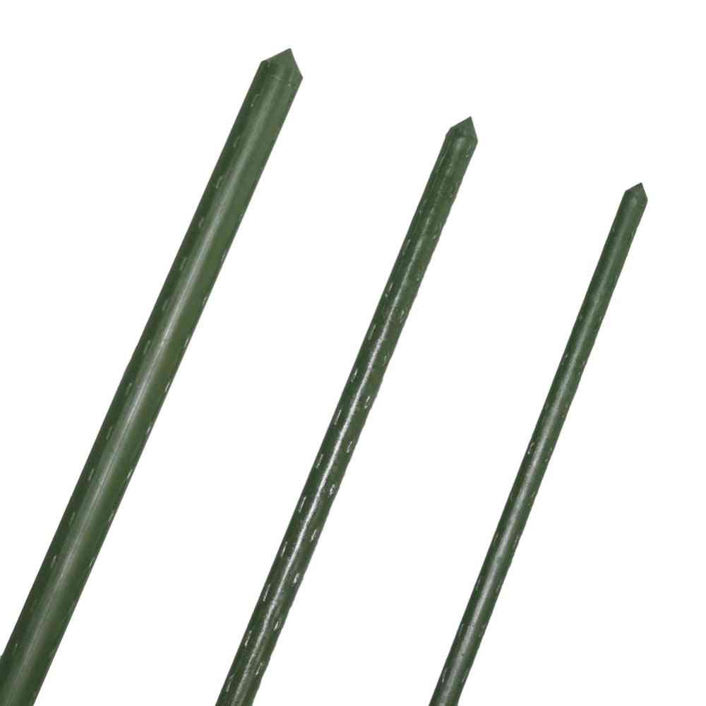 Garden Trellis Flower Support, Agriculture Greenhouse, Gardening Pillar, Plastic Coated Steel, Pipe Climbing