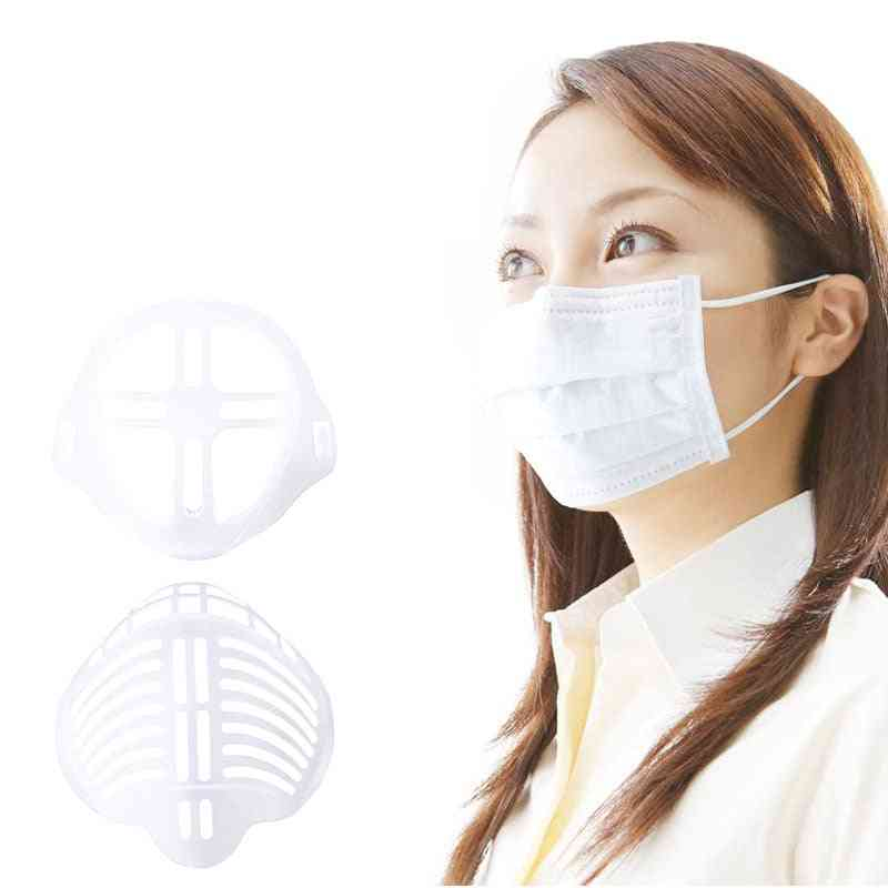 Mask Bracket, Anti-suffocating, Breathable, Reusable, Dustproof, Non-stick, Mouth, Nose, Inner Pad Bracket