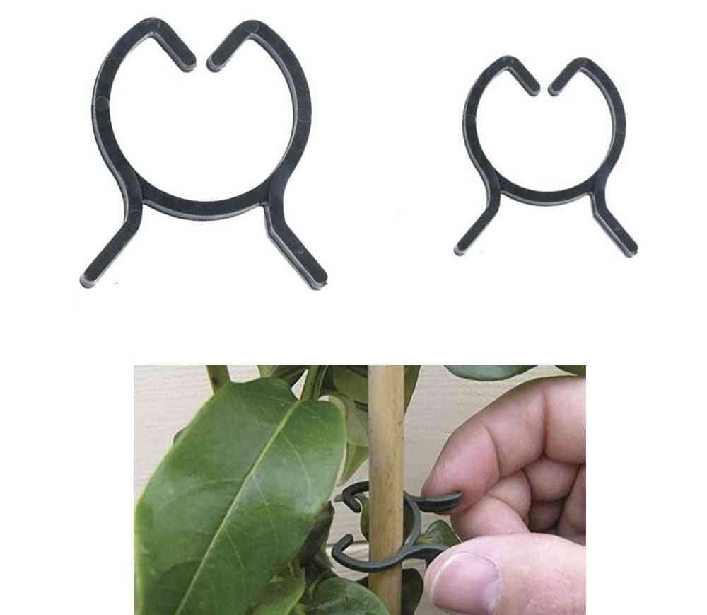 Plant Garden Clips, Vegetable, Vine Support Clip For Holding Plants Stems