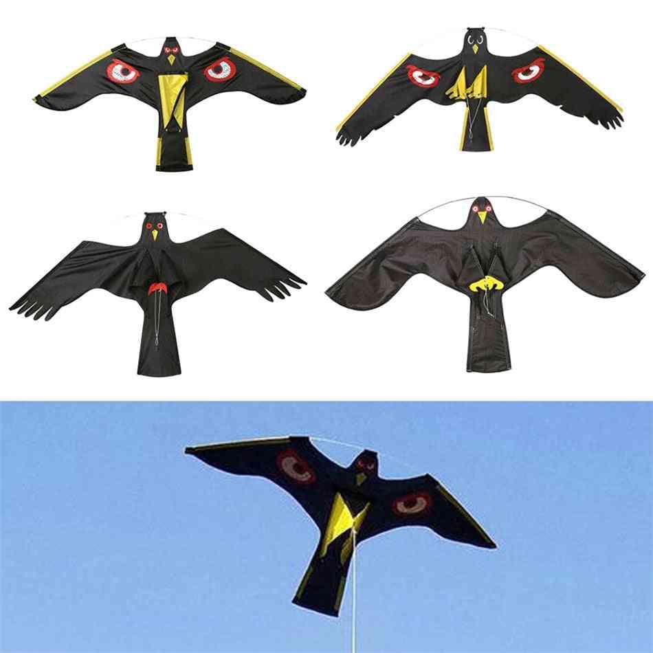 Emulation Flying Hawk Kite Bird Scarcer Garden Scarecrow Yard Bird-repeller Fly