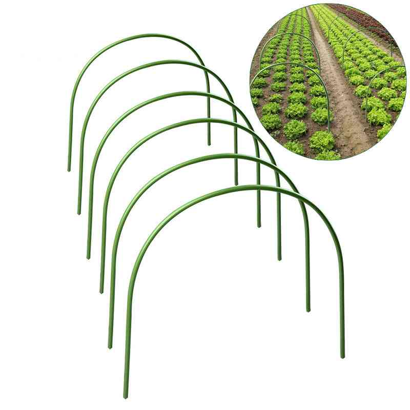 Greenhouse Plant Hoop, Grow Garden Tunnel, Support Hoops, Plant Holder Tools For Stakes Farm Agriculture