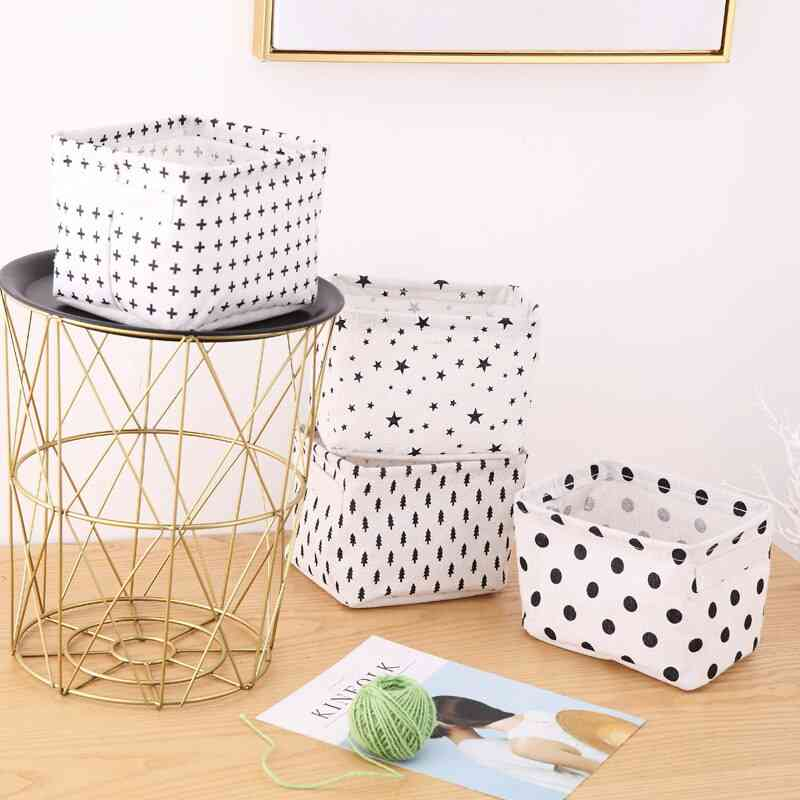 Creative Storage Basket For Toy - Dirty Clothes Sundries Home Closet Organizer