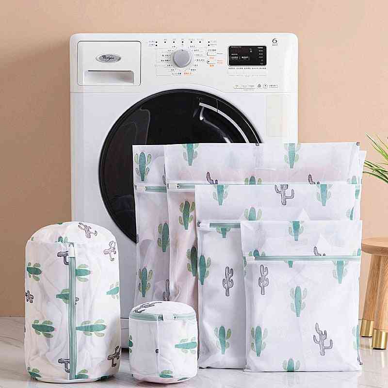 Polyester Mesh Wash Laundry Bag For Clothes