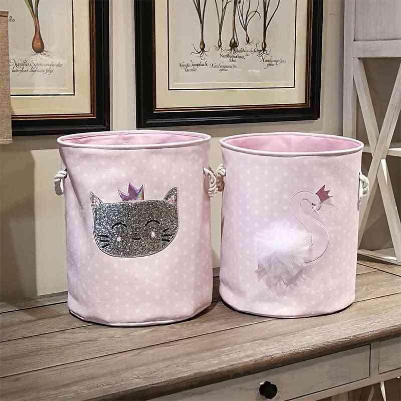 Baby Laundry Basket For Organizing Cute Dinosaur Swan, Picnic Box
