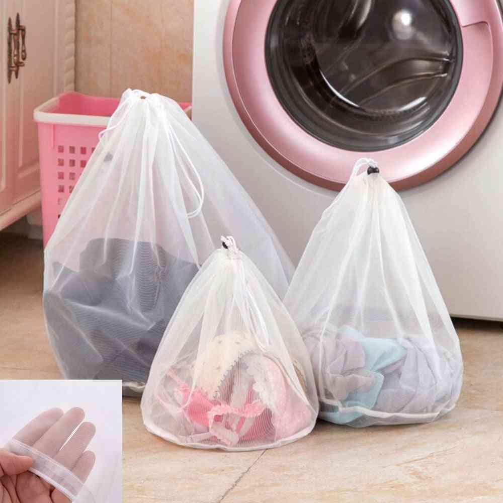 Washing Laundry Bag Clothing Care Foldable Protection Net