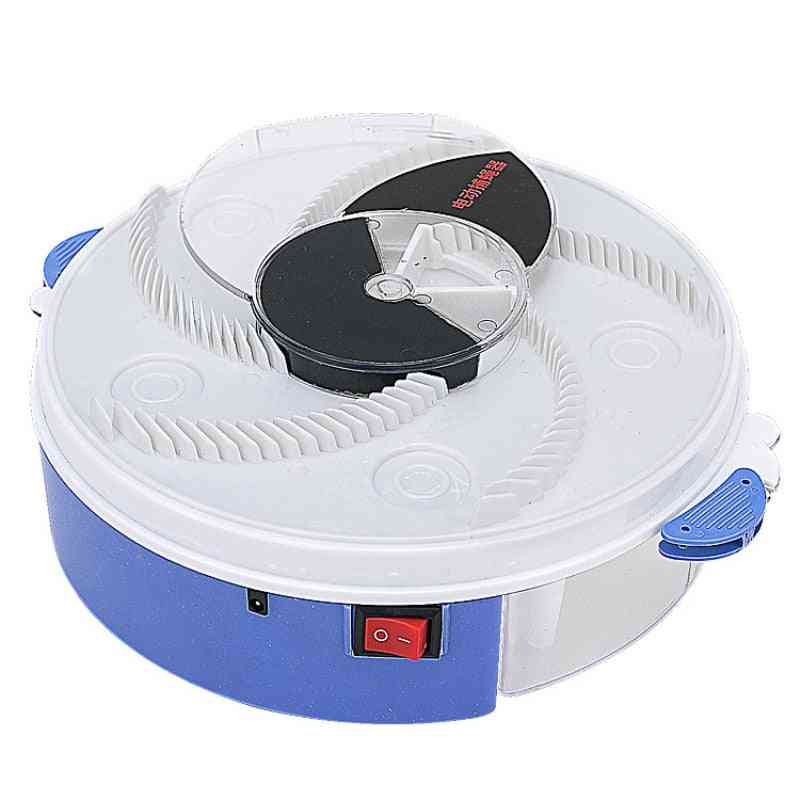 Electric Automatic Flycatcher Fly Trap Pest Control Catcher Trap (white)