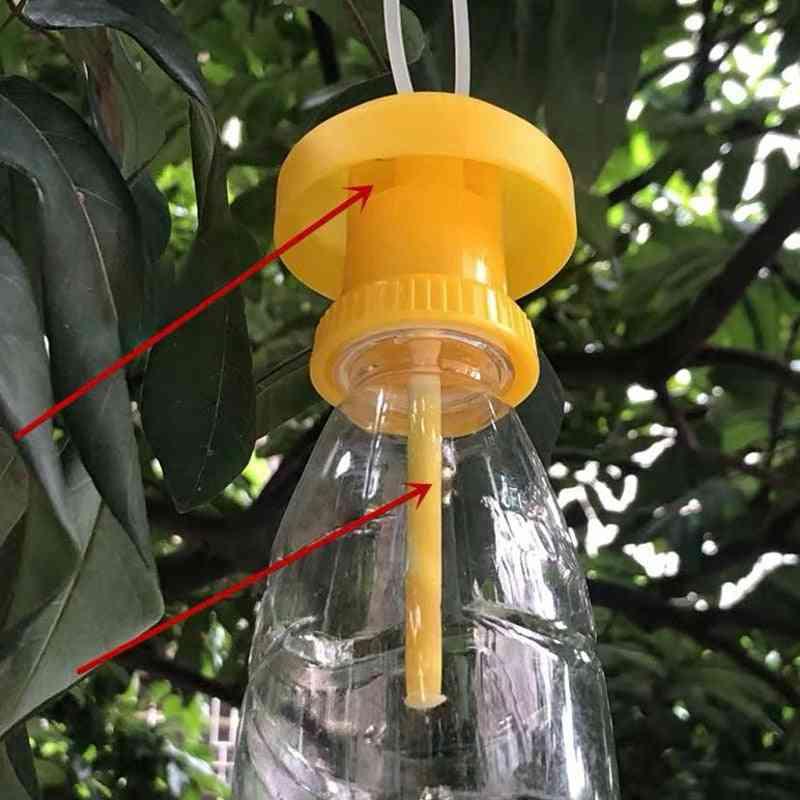 Fruit Fly Trap Killer Plastic Yellow Drosophila Trap Fly Catcher