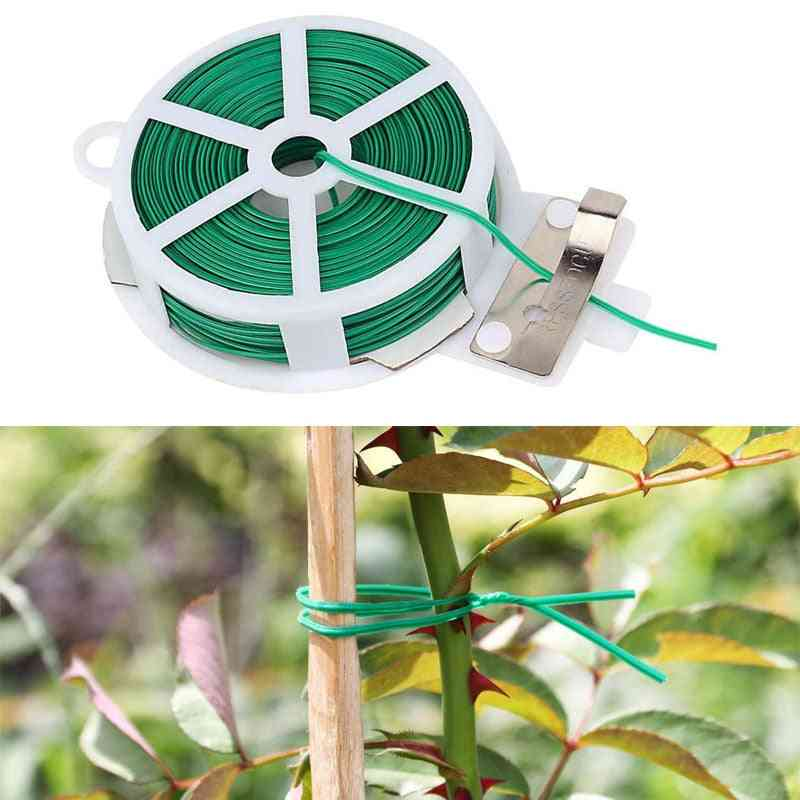 Multifunctional Plastic Steel Twist Tie, Sturdy, Reusable, Garden, Flower, Plant Support Strap, Home Improvement Cable Ties