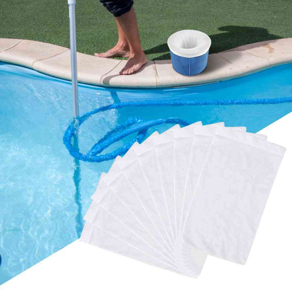 Round Pool Skimmer Socks, Household, Perfect Savers For Filters, Baskets, Net Filter Sock Bag