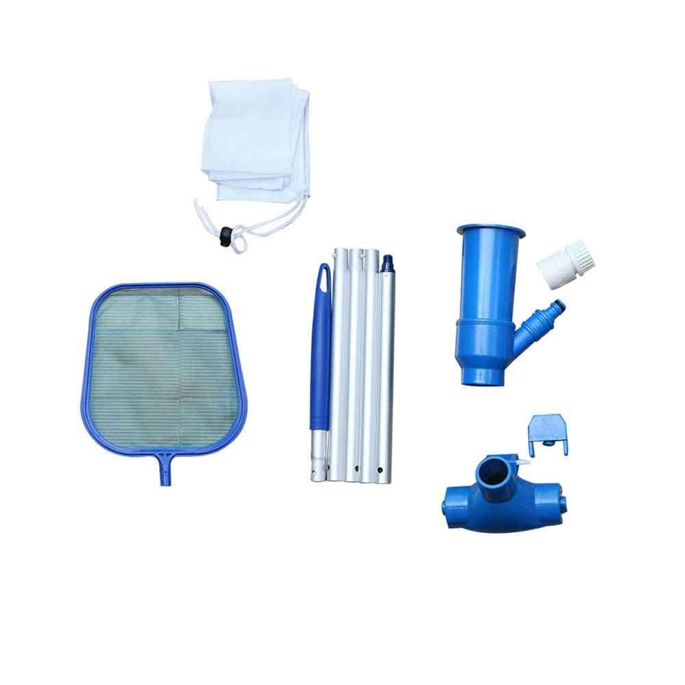 Pool Mini Vacuum Cleaner Skimmer Pool Net Kit
