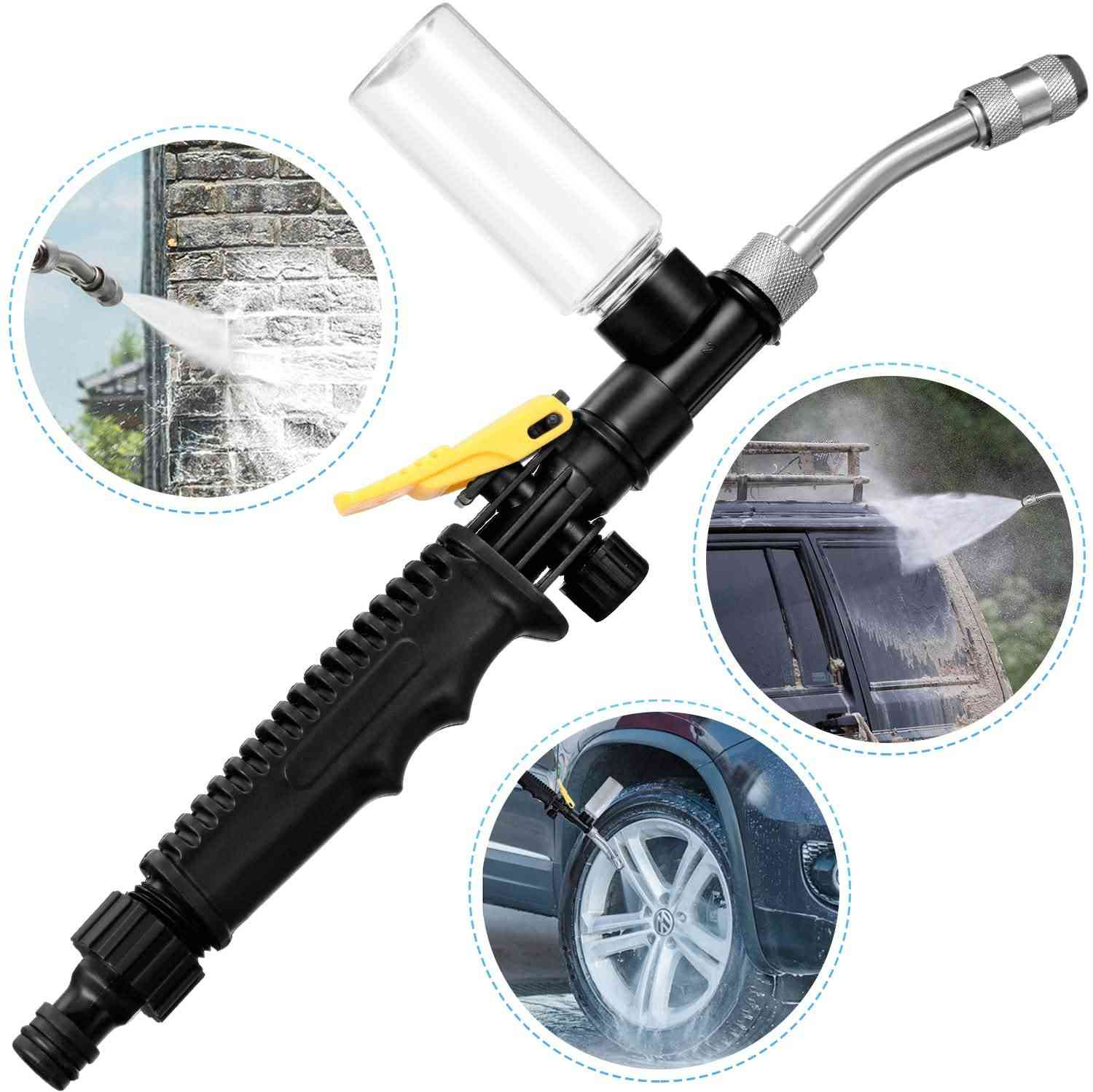 2-in-1 High Impact Washing Wand Water Jet Nozzle Spray Washer