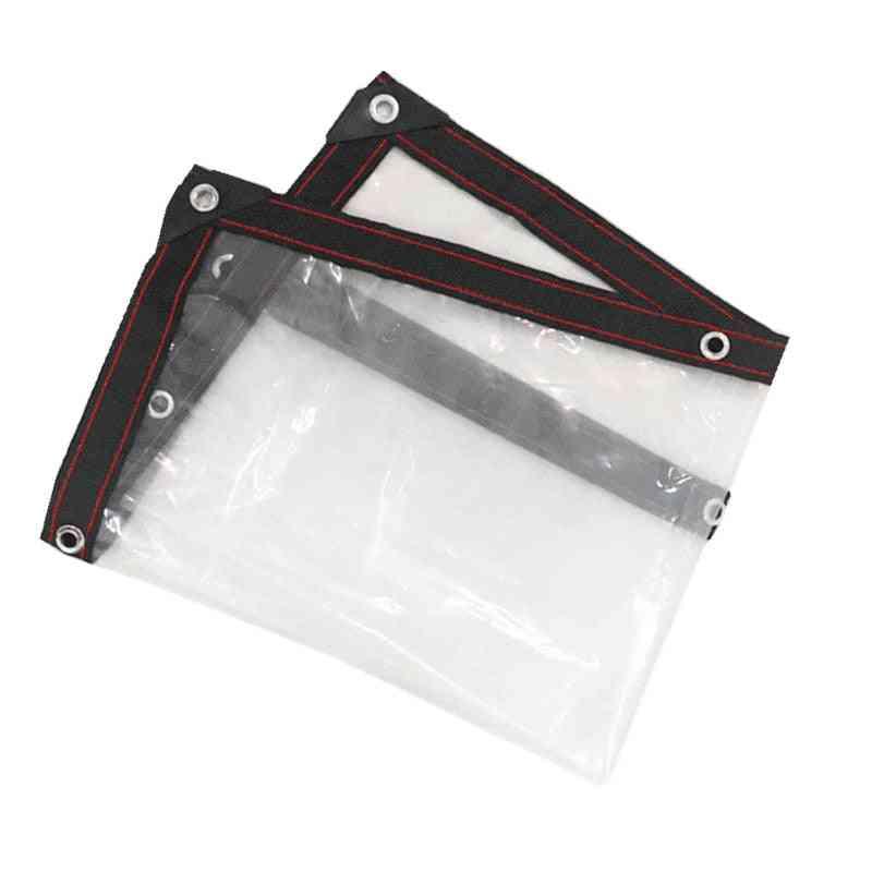 Transparent Rainproof Shade Cloth Lightweight Waterproof Tarp Cover