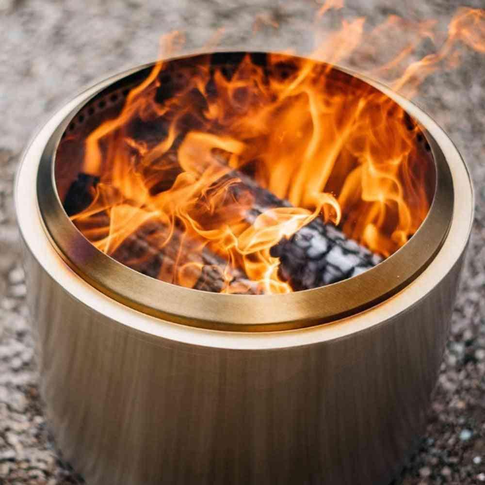 Winter Heating Bonfire Smokeless Portable Fire Pit Lightweight Grill Stove