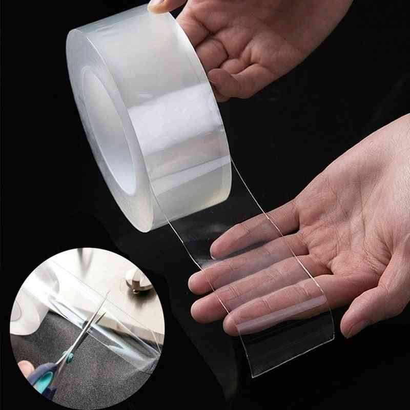 Waterproof Double-sided Reusable, Transparent Non-slip, Gel Grip, Silicone Tape