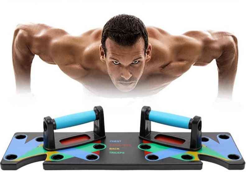 9-in-1, Push-up Rack, Training Sports Board For Home Fitness Equipment