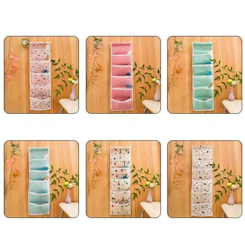 Wall Hanging Organizer Bags Sundries Pouche For Bra Socks