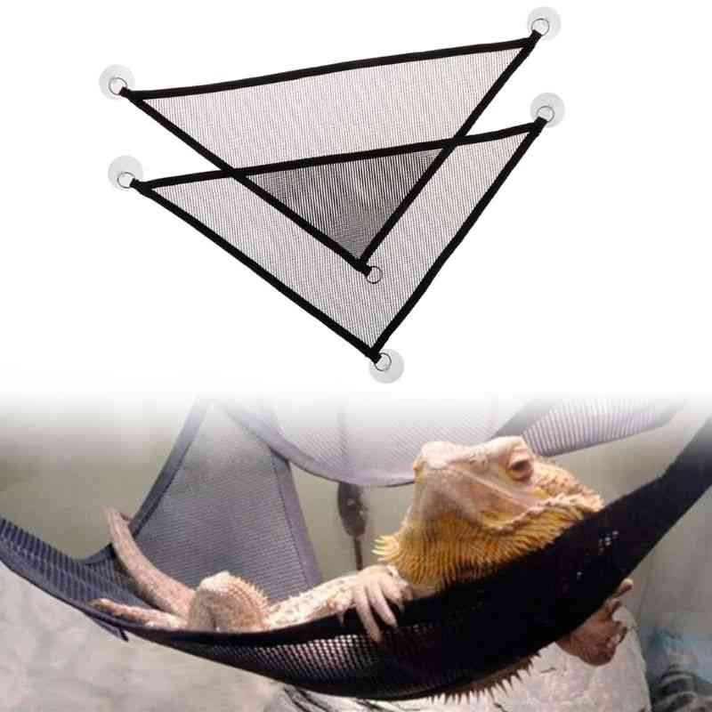 Pet Hammock Mesh Sleeping Bed Play Swing Oxford Fabric For Reptile Snake Lizard Climb Products