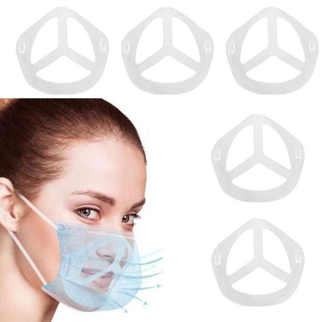 Face Mask Inner Bracket Holder Internal Support Frame Under Frame (beige)