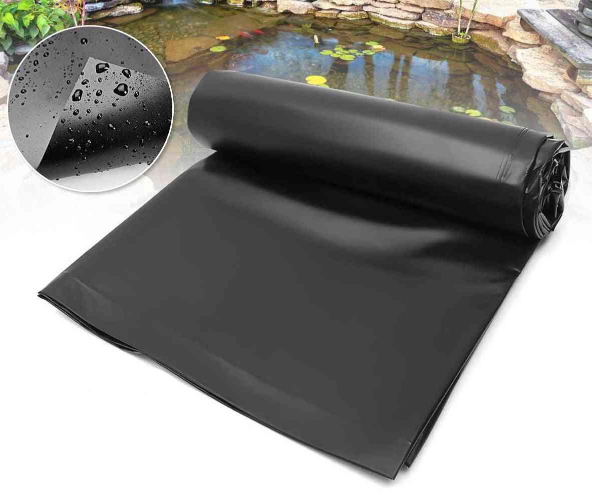 Black New Fish Pond Waterproof Liner Cloth