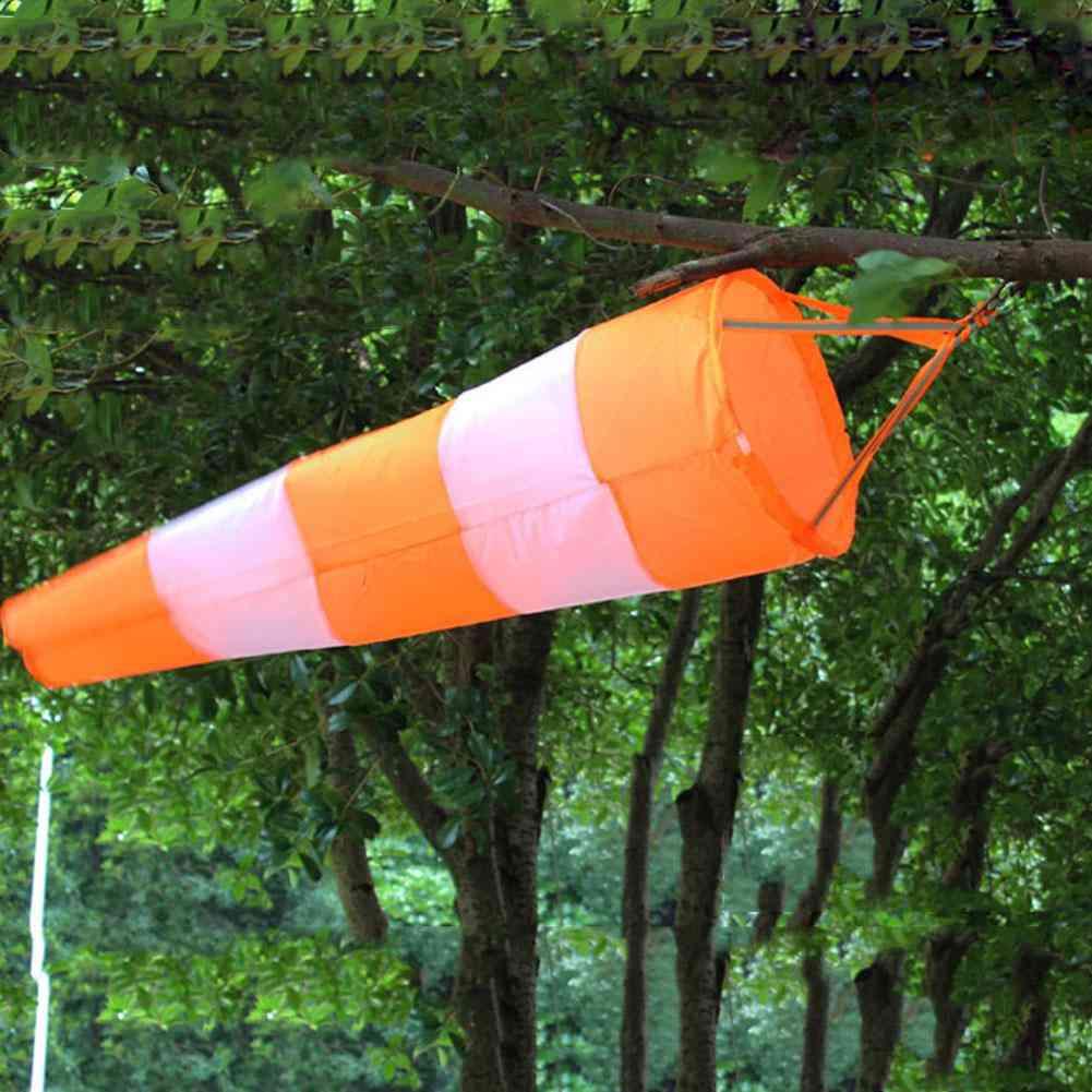 Outdoor Aviation Windsock Rip-stop Wind Measurement Weather Bag