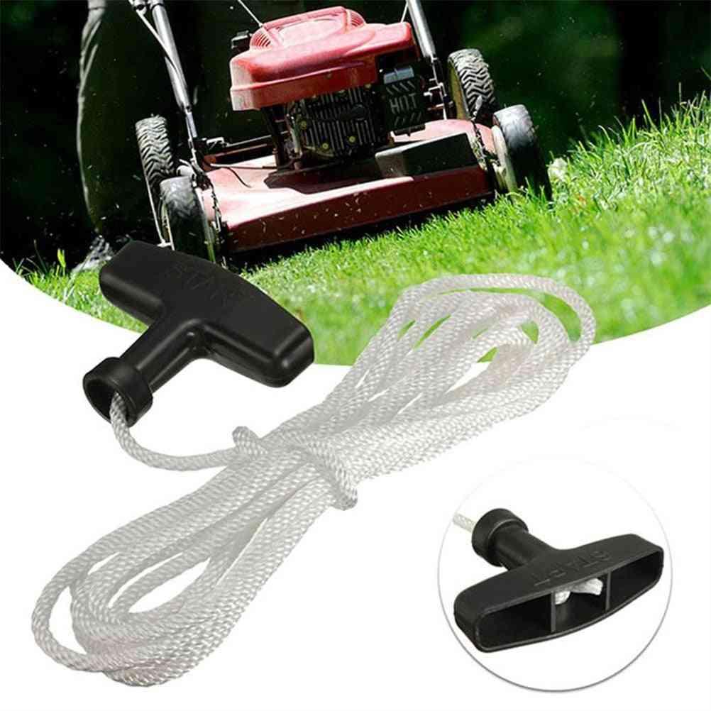 Universal Lawnmowers Pull Handle Starter Start Cord Line, Rope
