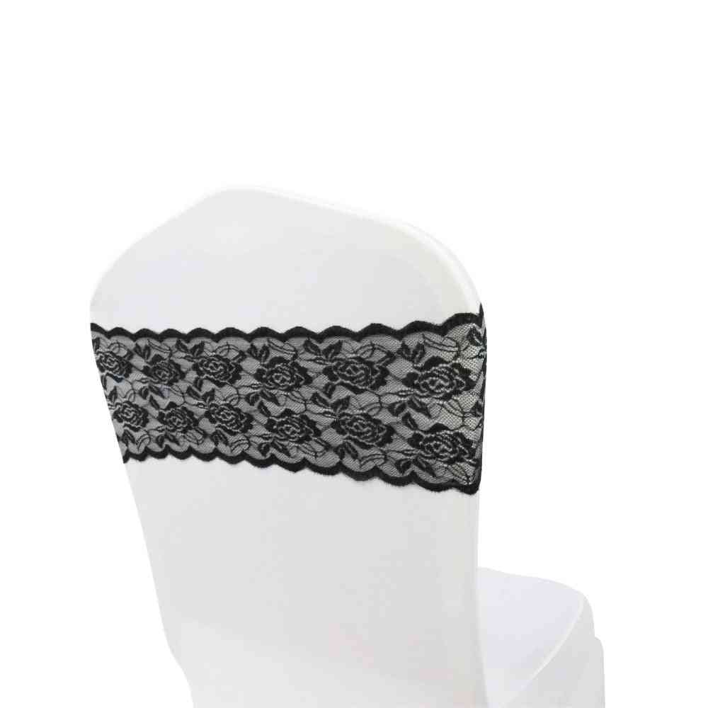 Lace Chair Bow Sashes