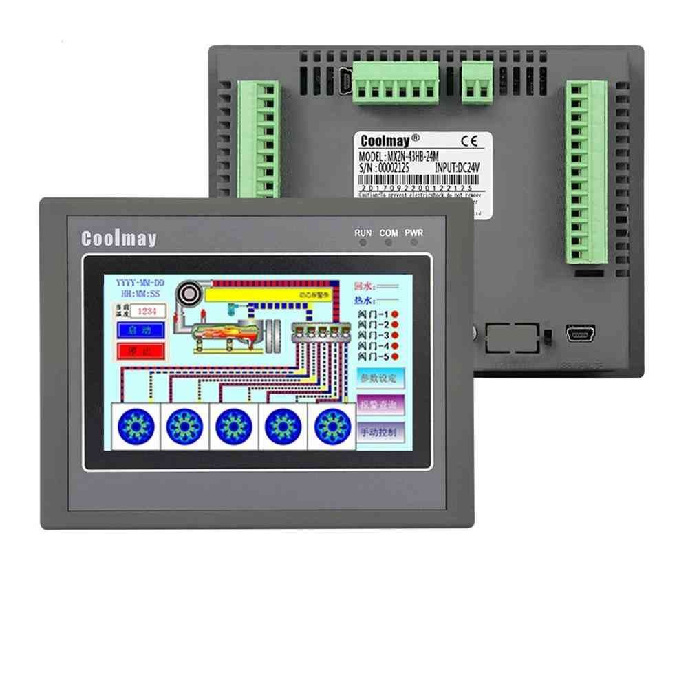 Hmi Plc Integrated Controller Touch Panel