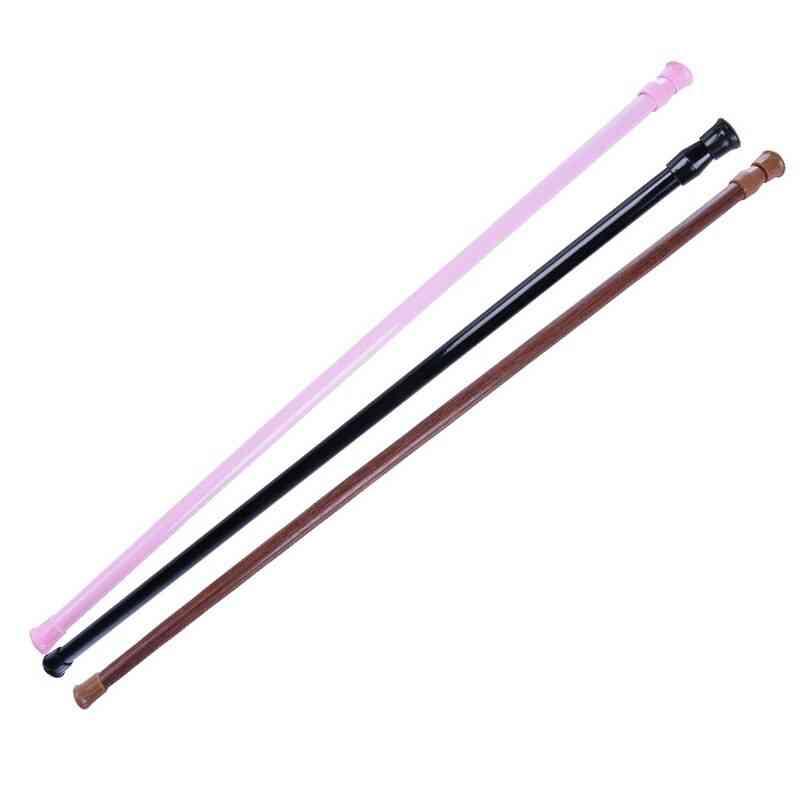 Bathroom Adjustable Curtain Rod, Spring Loaded Extendable Telescopic Rail Pole