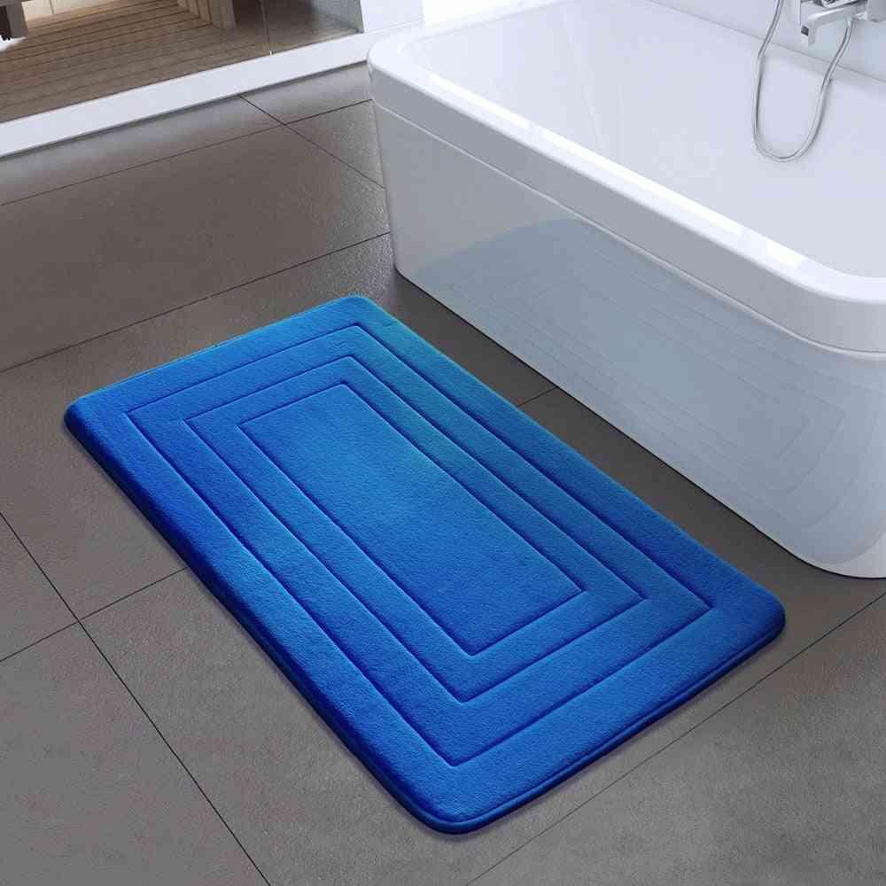 High Quality Bath Mat Bathroom Bedroom Non-slip Mats Foam Rug Shower Carpet