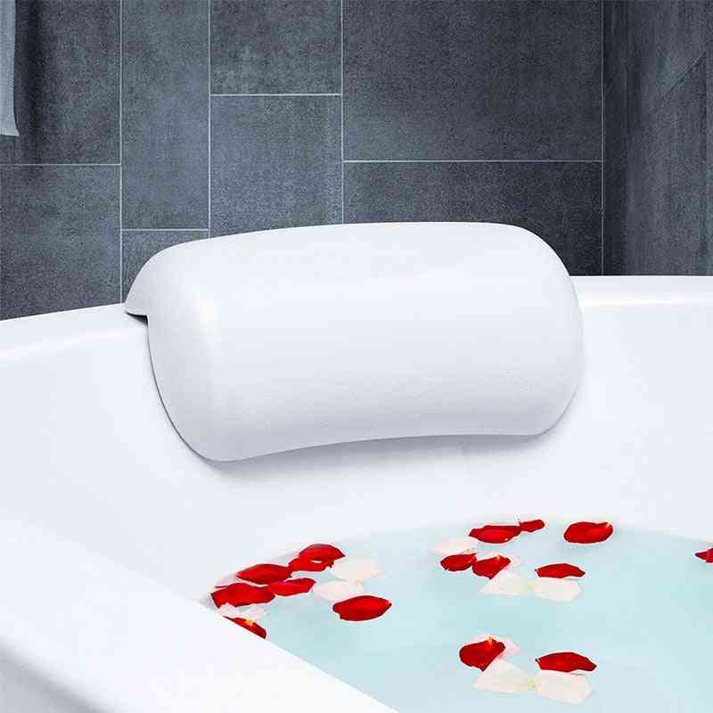 Waterproof Bath Pillows With Suction Cups Easy To Clean Bathroom Accessories