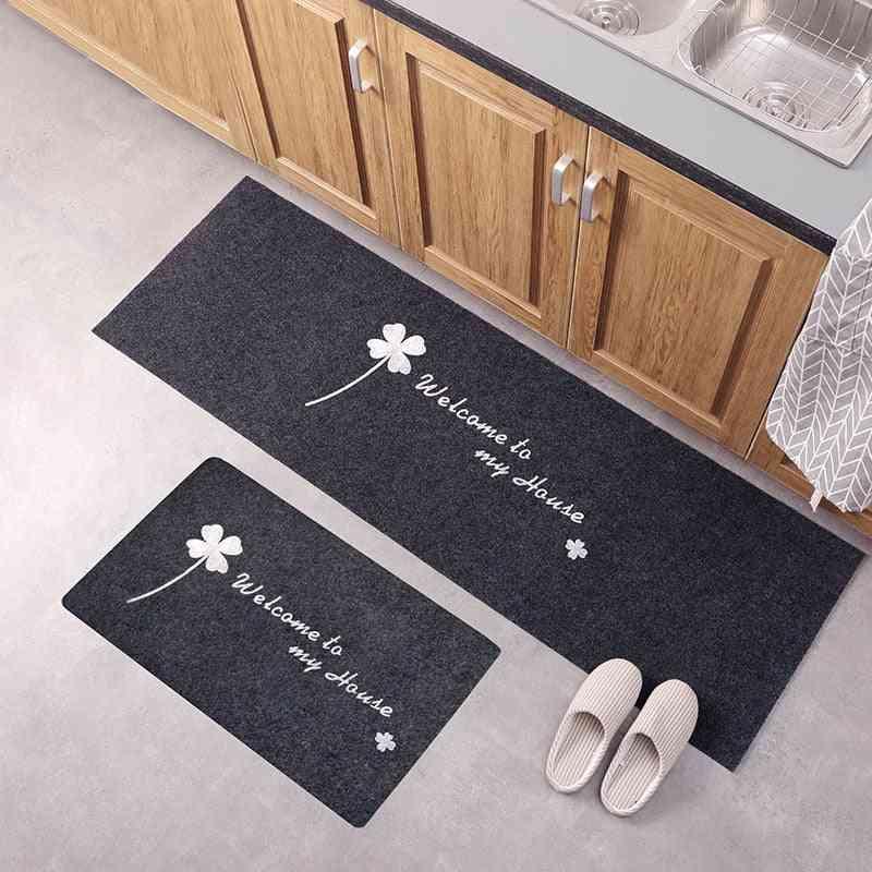 Kitchen Accessories Door Mat Tapete Doormats Carpet Kitchen Bathroom Carpet