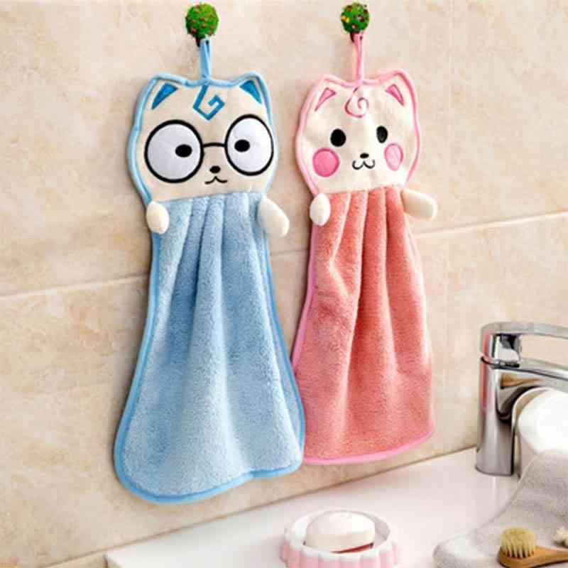 Handkerchief Washcloths Kitchen Hanging Towels