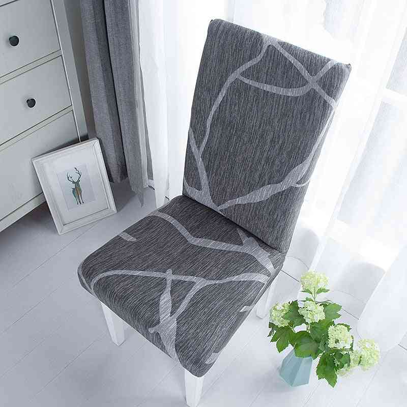 Spandex Elastic Stretch, Dining Chair Seat Cover