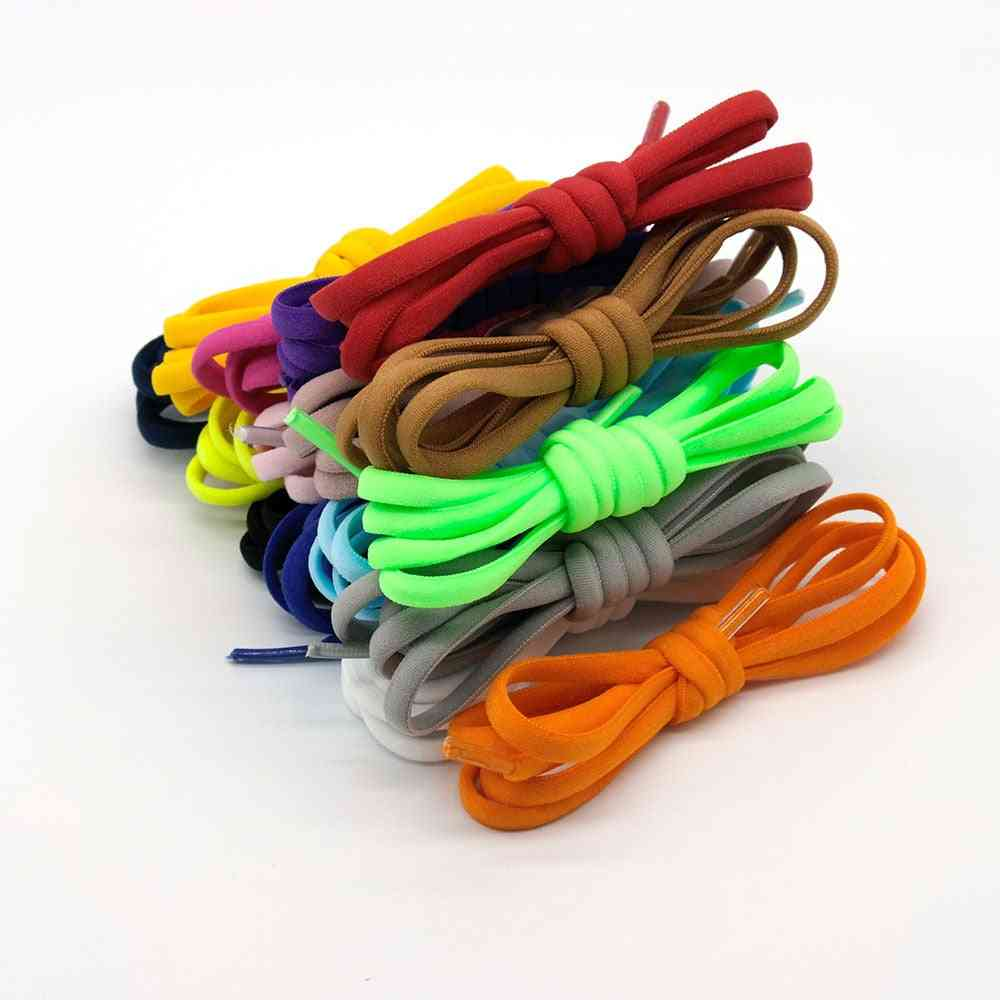 Elastic No-tie, Semicircle Shoe Laces For Sneakers Metal Lock Laces, Shoe Strings