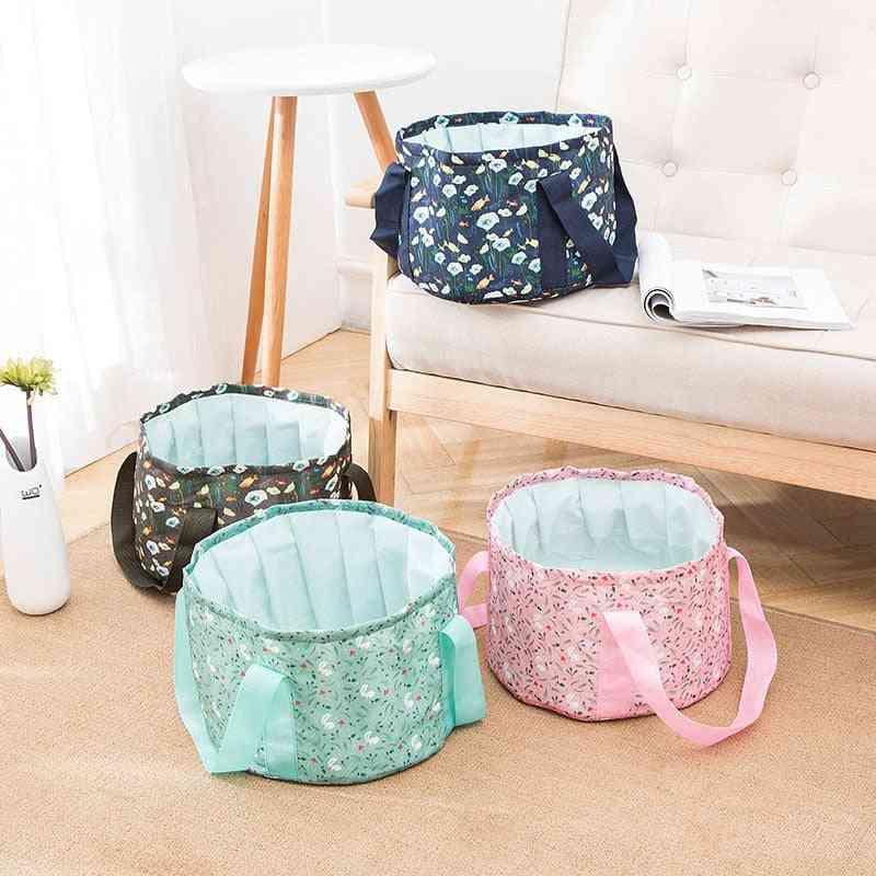 Multifunction Foldable Portable  Washing Basket