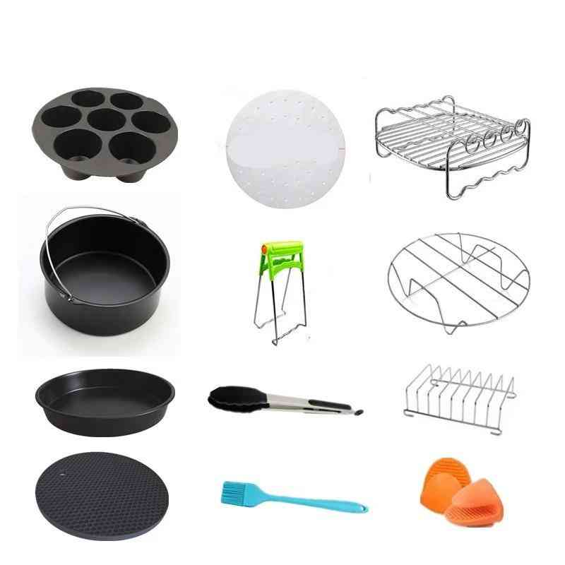 High Quality Air Fryer Accessories For Gowise Phillips Cozyna  (12pcs A Set)