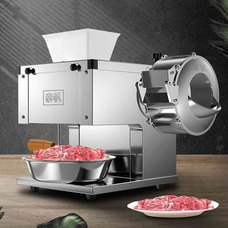 Electric Commercial- Meat Slicer Cutter, Knife Set Machine