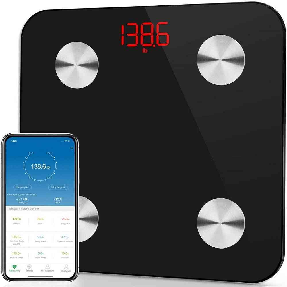 Body Fat Scale Bluetooth Weight Scale Household Measuring Electronic Smart Scale