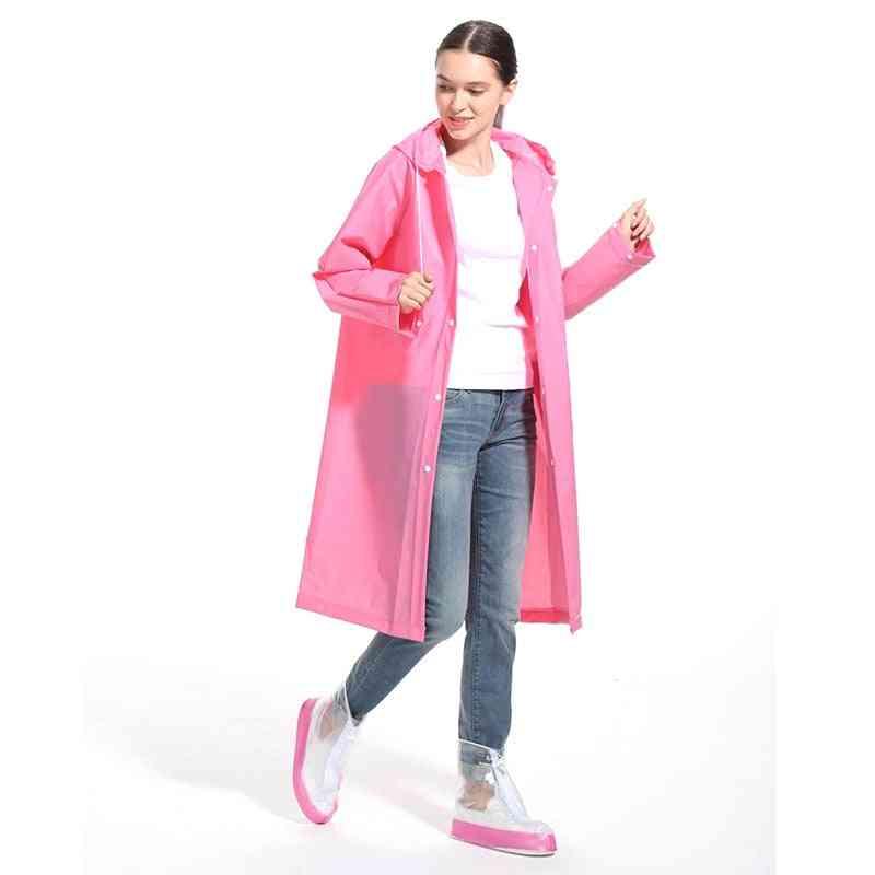 Fashion Eva Raincoat Thickened Waterproof Rain Coat