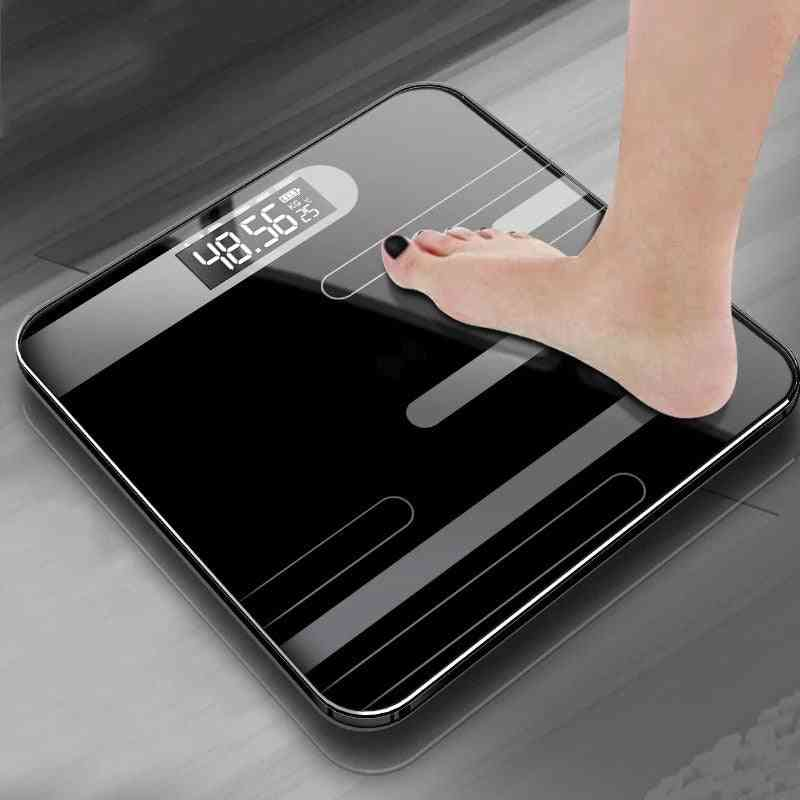 Bathroom Body Fat Electronic Smart Lcd Display Weight Scale