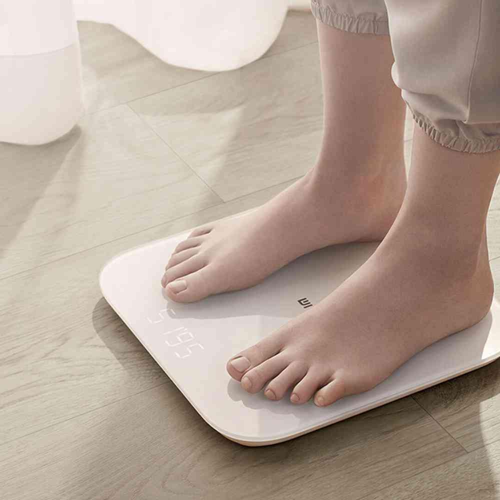 Mi Smart Electronic Digital Bathroom Floor Scales For Body Weight