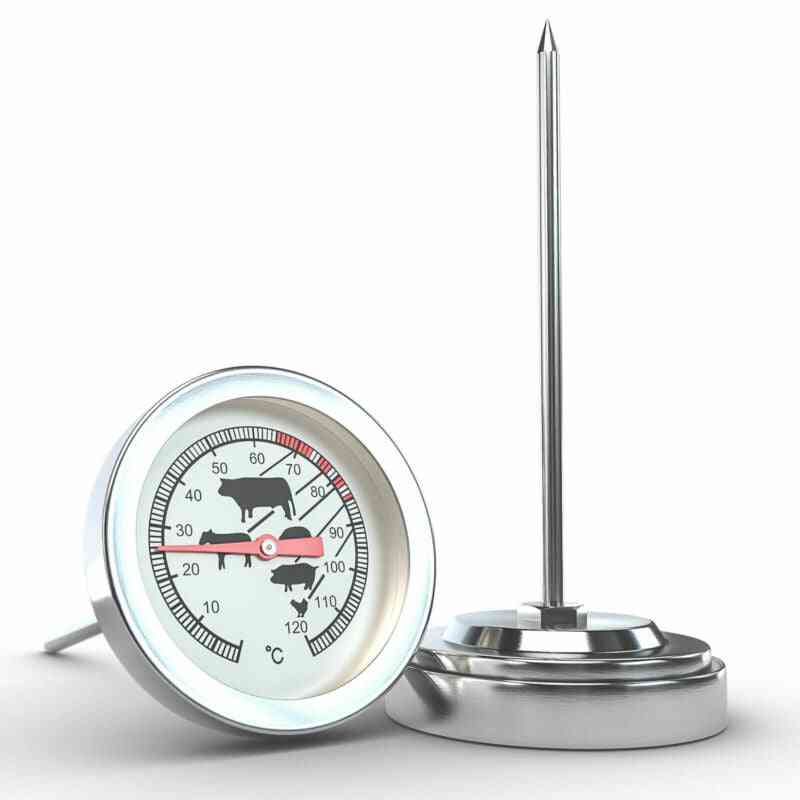 Stainless Steel Instant Read Probe Thermometer For Bbq F
